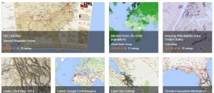 Google introduces Google Maps Gallery displaying historical information