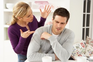 Couple Having Argument At Home