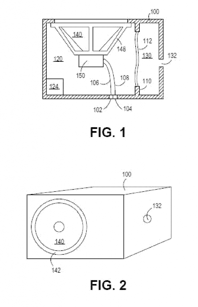 gas filled speaker patent granted to apple inc   aapl