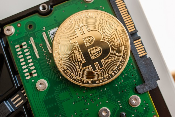 Bitcoin computer chip