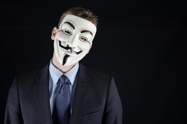 anonymous man