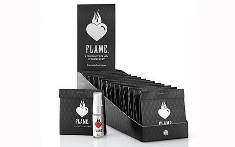 Burger King Flame Fragrance Packshot